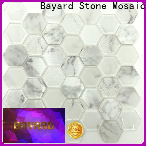 Bayard color blue glass mosaic tile for decoration