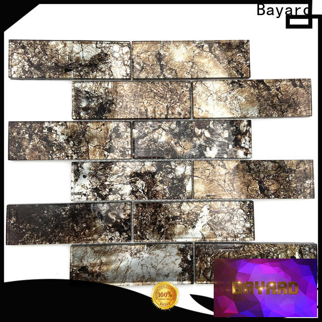 affordable clear glass mosaic tiles carrara supplier for foundation