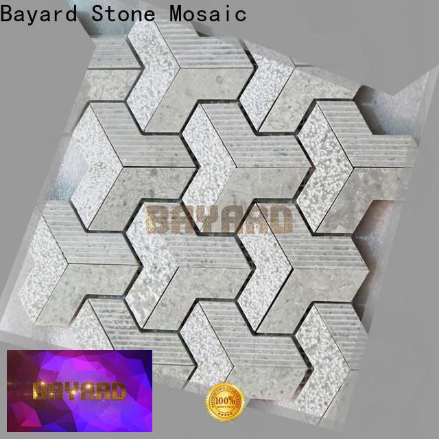 Bayard gray mosaic kitchen floor tiles factory price for hotel lobby