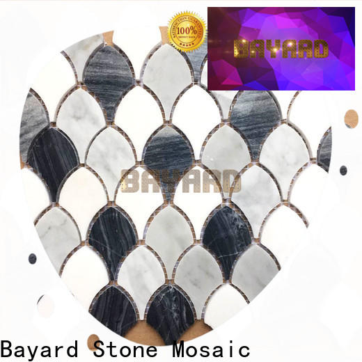 fashion design mosaic stones blue in china for hotel lobby