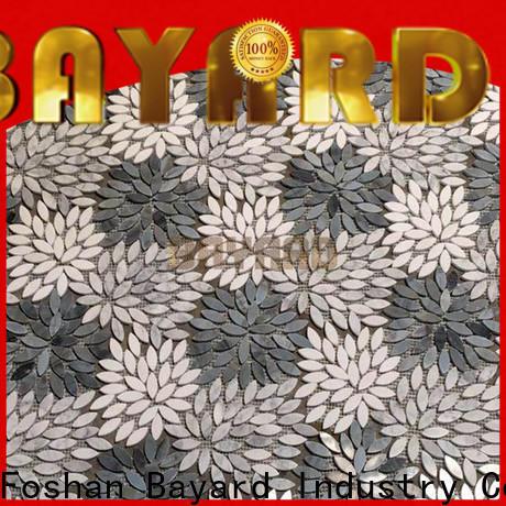 Bayard light metal mosaic tiles for foundation