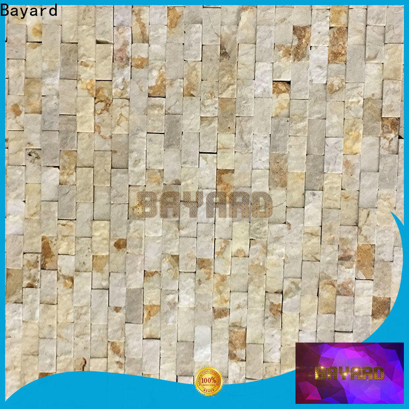 professional slate mosaic tiles wall vendor for wall decoration