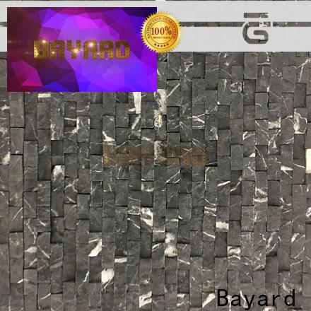 Bayard backsplash patterned mosaic tiles for foundation