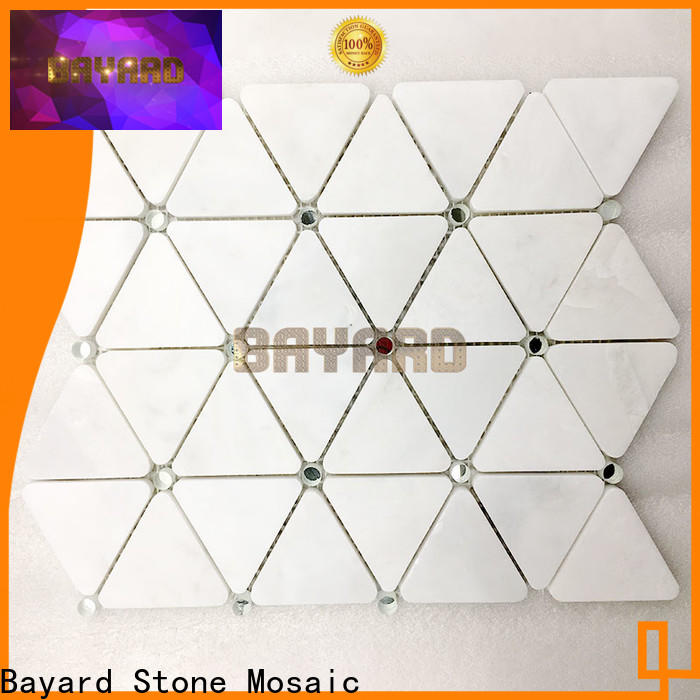 2x2 ceramic mosaic tile mixed supplier for hotel lobby