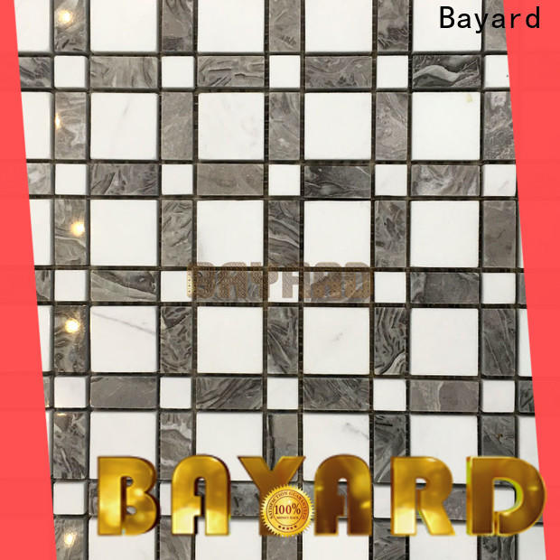 Bayard low cost light grey mosaic tiles supplier for foundation
