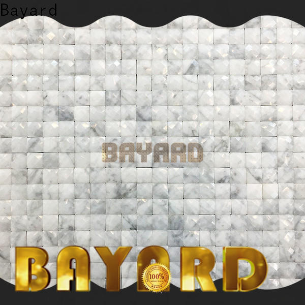 Bayard depot 2x2 ceramic mosaic tile in different shapes for foundation