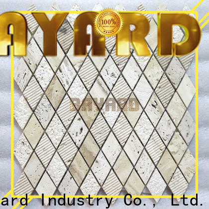 durable grey marble mosaic tiles natural for wholesale for foundation