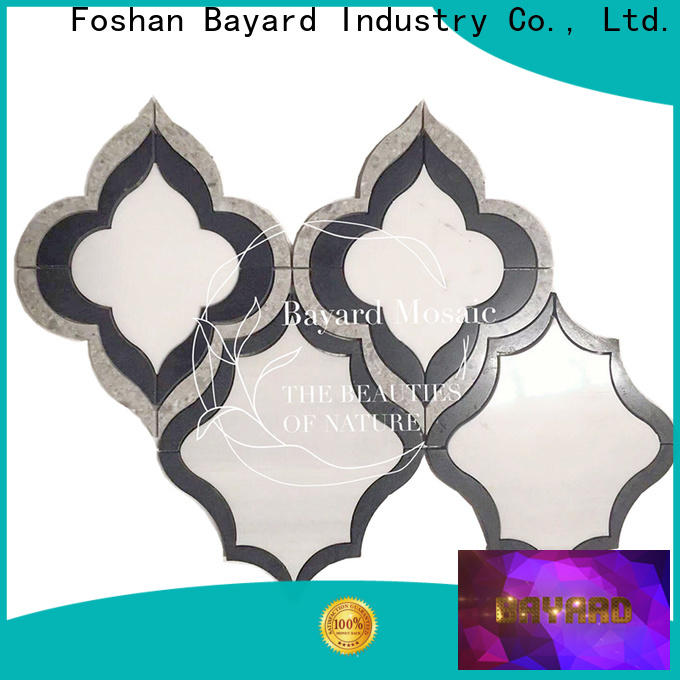 Bayard high standards waterjet tiles factory for hotel lobby
