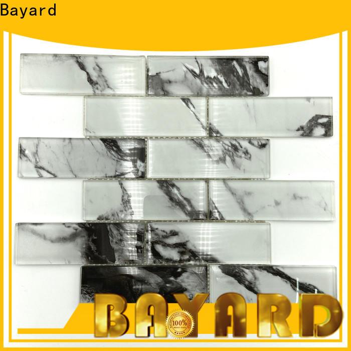 Bayard elegant glass mosaic tile sheets in china for foundation