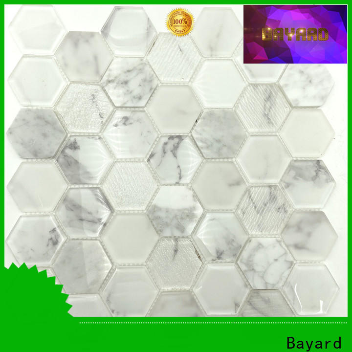 hot-sale sea glass mosaic tile brick order now for bathroom