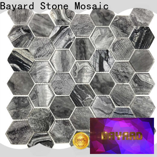 Bayard elegant glass mosaic tile backsplash dropshipping for decoration