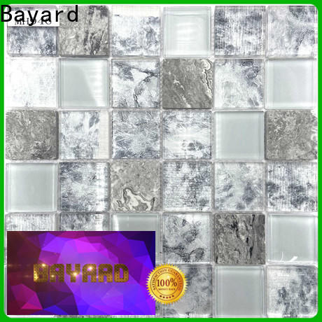 new arrival blue glass mosaic tile carrara newly for bathroom