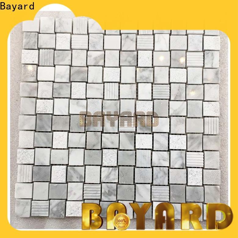 Bayard crema stone mosaic newly for TV wall