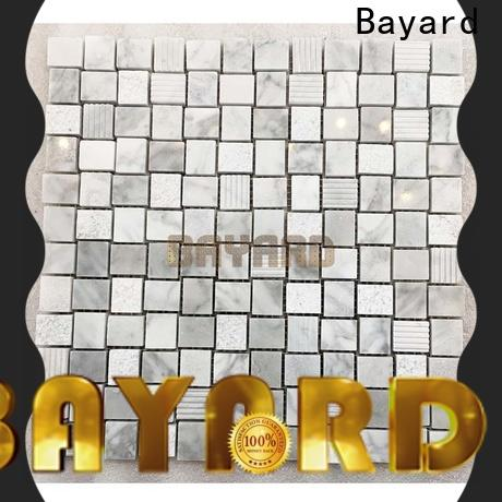 high-end mosaic tile sheets grey factory price for decoration