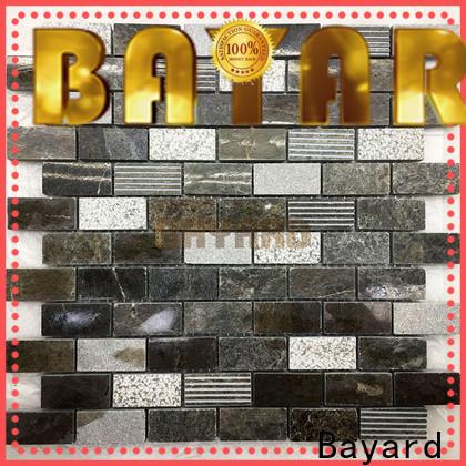 Bayard hot-sale marble mosaics vendor for TV wall