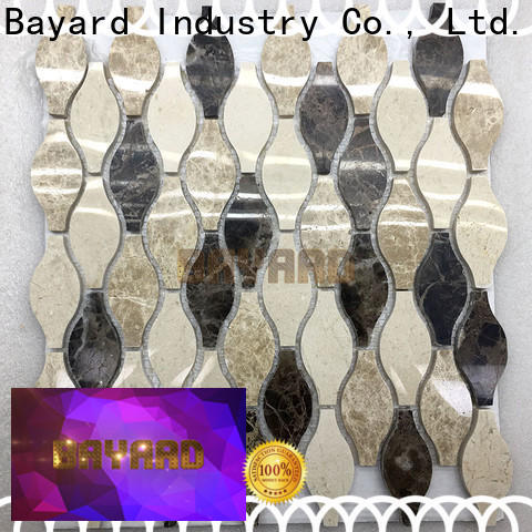 upscale 2x2 mosaic tile green supplier for wall decoration