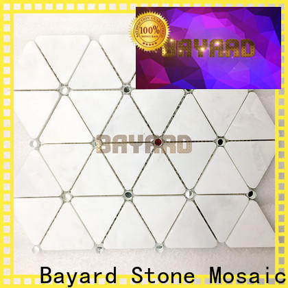Bayard upscale italian mosaic tile marketing for foundation