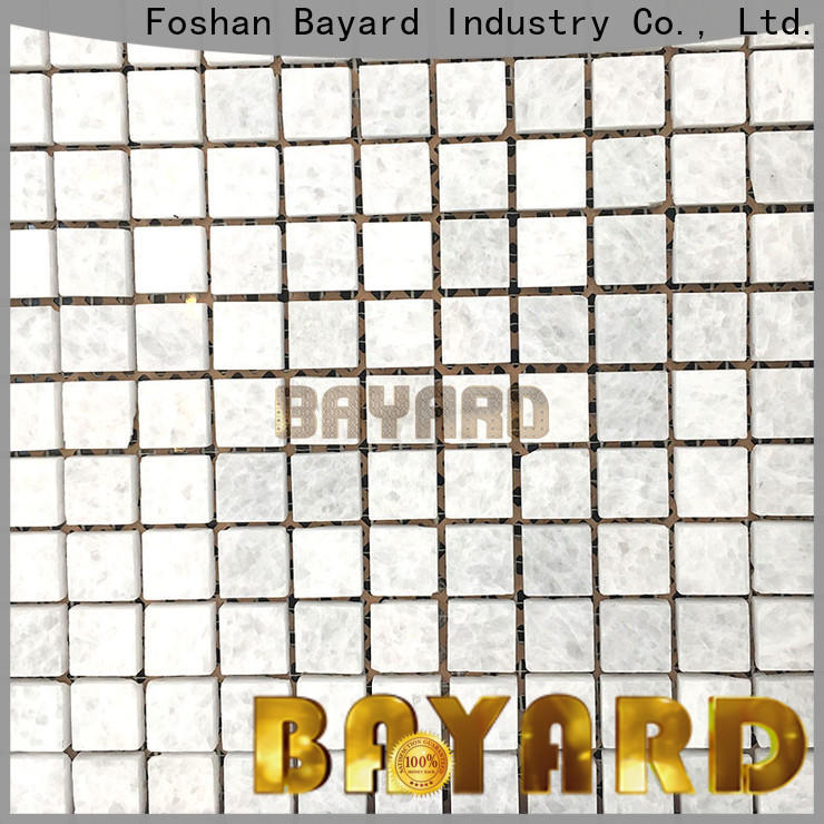 Bayard depot pebble mosaic tile overseas market for wall decoration