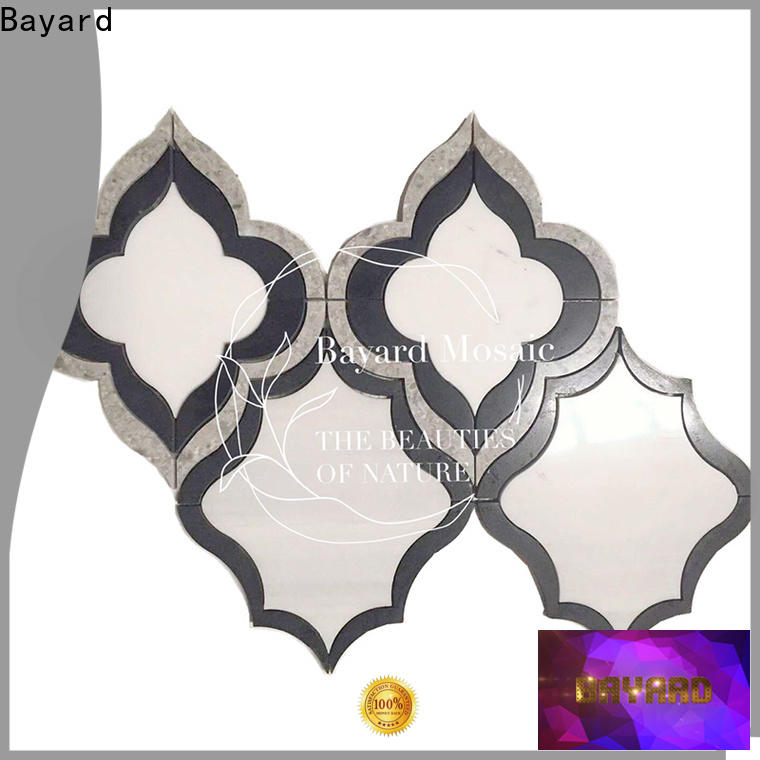 high quality waterjet marble tile water for wholesale for hotel lobby