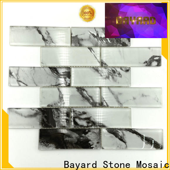 Bayard hot-sale stained glass mosaic tiles newly for hotel lobby