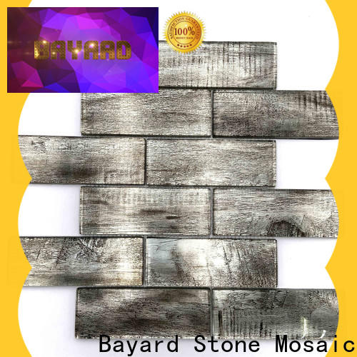 Bayard glass blue glass mosaic tile order now for decoration