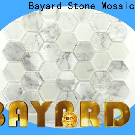 Bayard green Glass mosaic in china for foundation