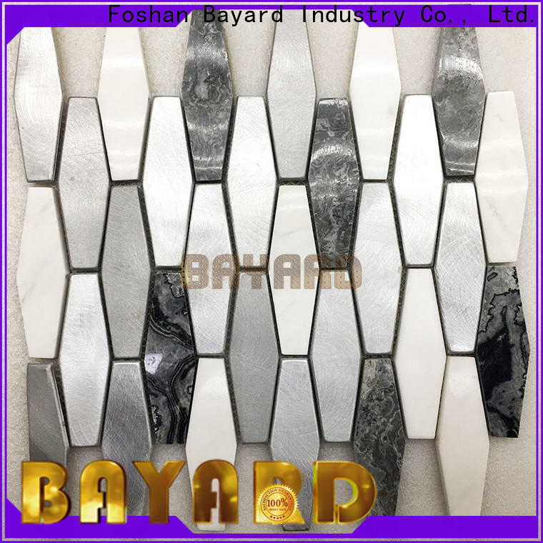 glossy brick mosaic tile umbrellatypeshelltype factory price for hotel lobby