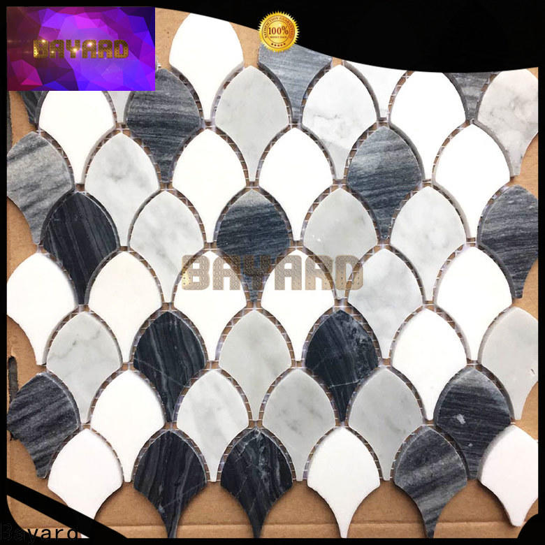 professional round mosaic tiles mix dropshipping for bathroom