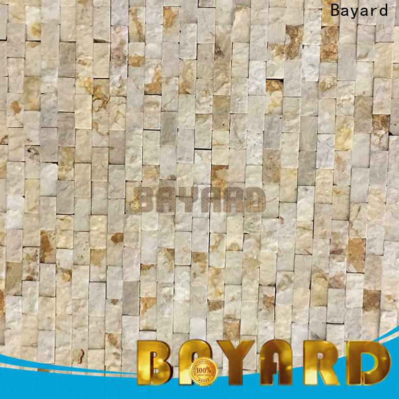 Bayard stone gray mosaic floor tile order now for wall decoration