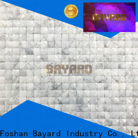 Bayard simple design black and grey mosaic tiles shop now for wall decoration