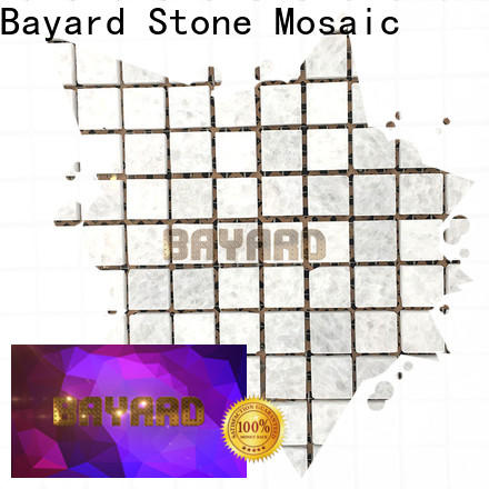 Bayard mix blue mosaic floor tile factory price for hotel lobby