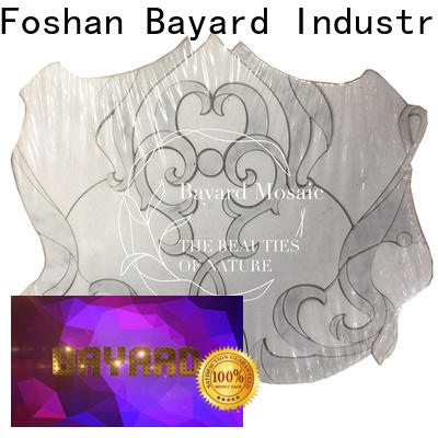 Bayard mosaic waterjet mosaic for decoration