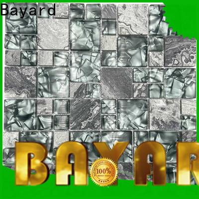 Bayard blue glass mosaic tile vendor for foundation