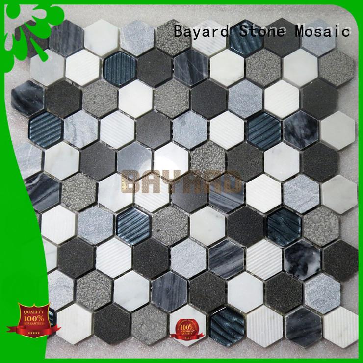 Bayard high standards mosaic backsplash for wholesale for TV wall
