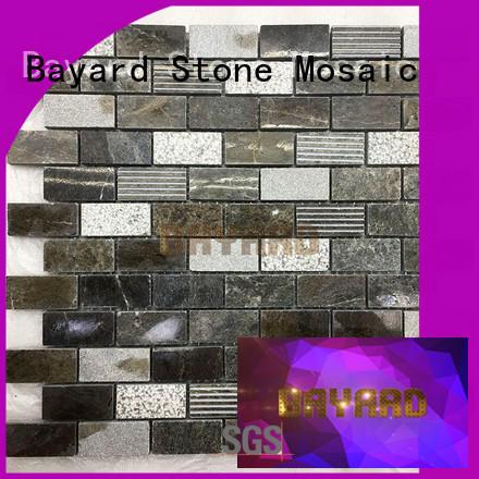 Bayard white mosaic backsplash newly for bathroom