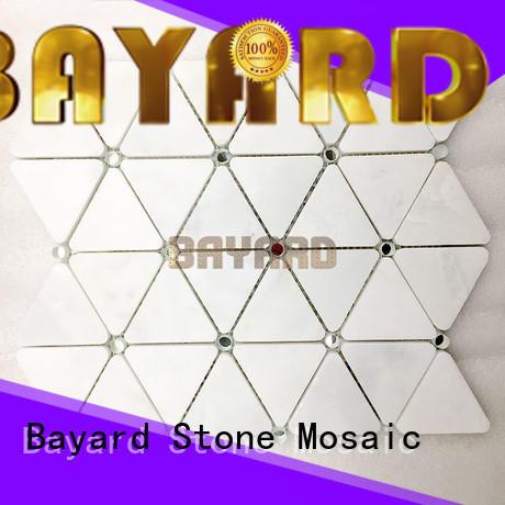 Bayard simple design green mosaic bathroom tiles marketing for bathroom