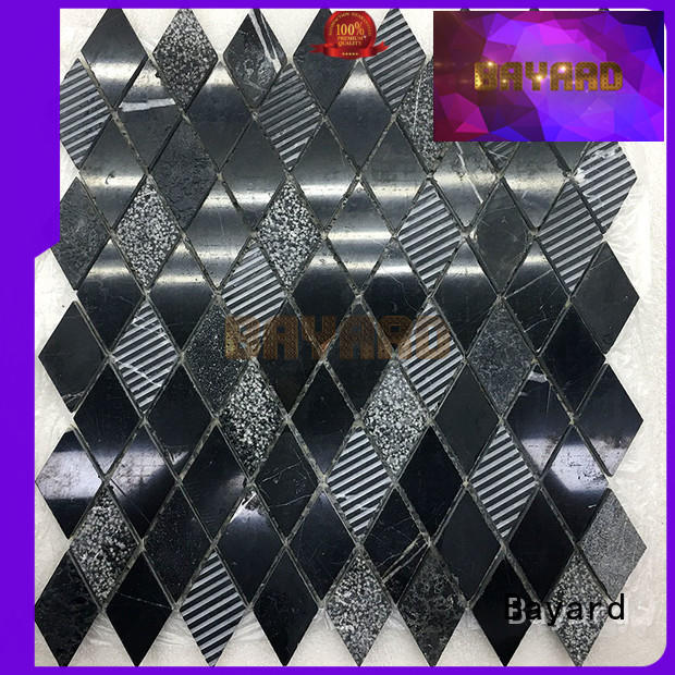 new arrival mosaic floor tiles crema factory price for TV wall
