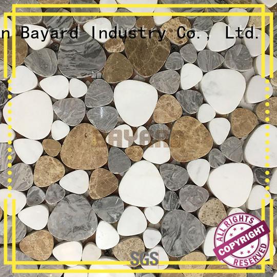 Bayard fashion design ceramic tiles for mosaics supplier for foundation