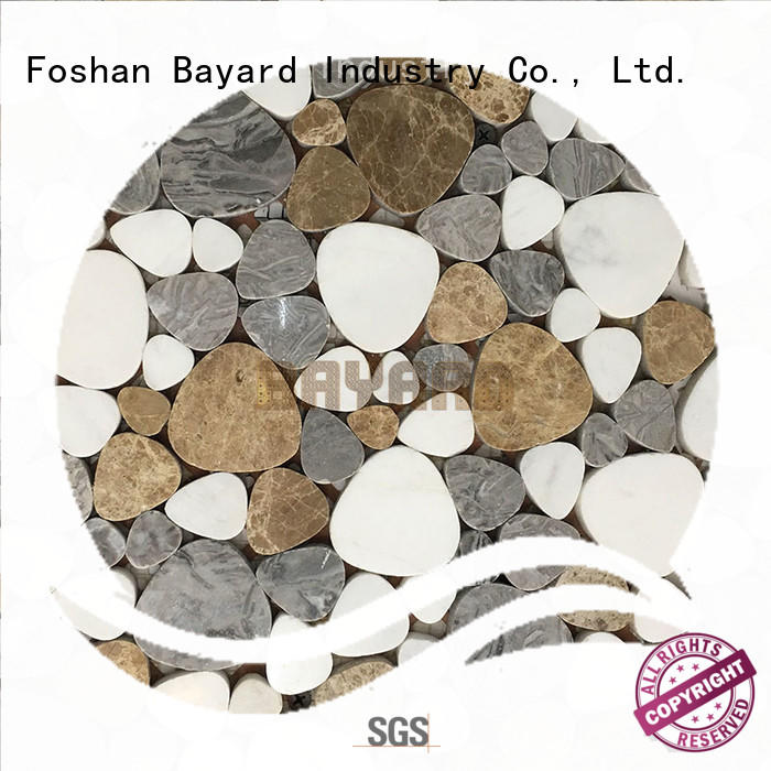 Bayard elegant mosaic stones grab now for hotel lobby