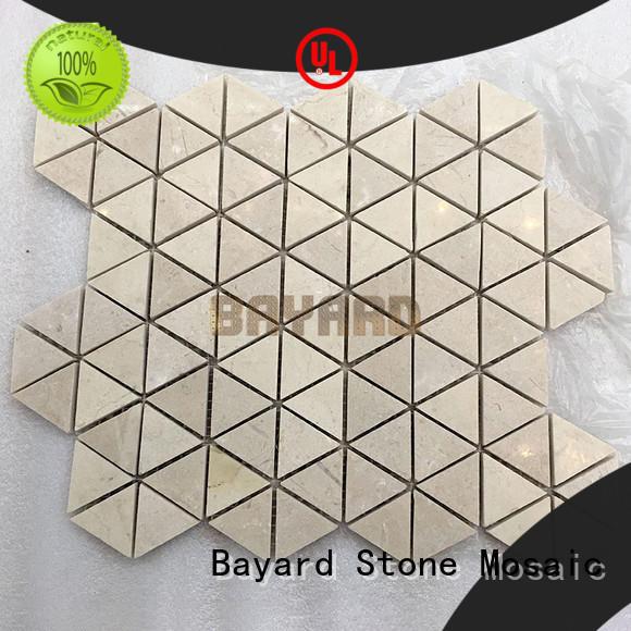 Bayard natural mosaic tile patterns dropshipping for hotel