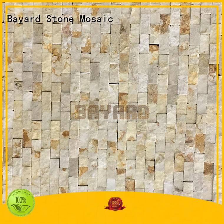 Bayard upscale slate mosaic tiles overseas market for hotel lobby