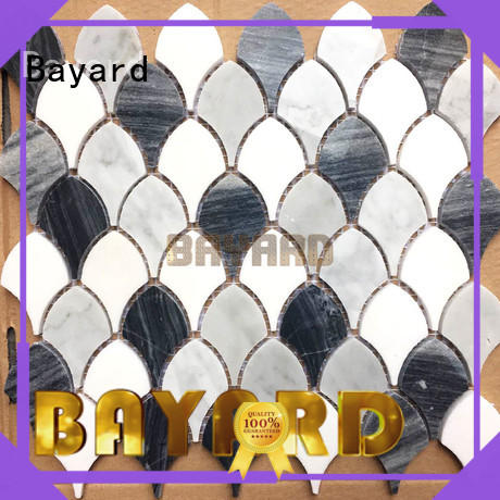 Bayard widely used glass and stone mosaic tile supplier