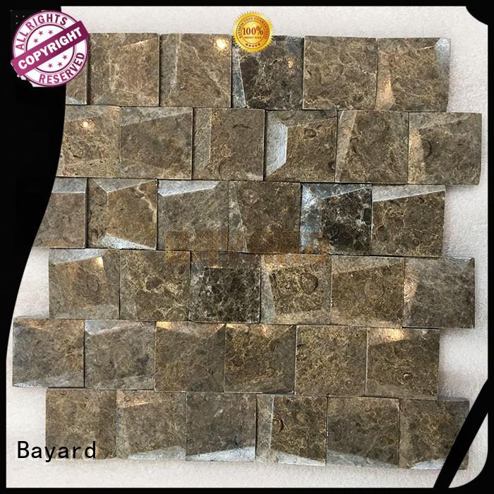 crema black mosaic wall tiles tile Bayard