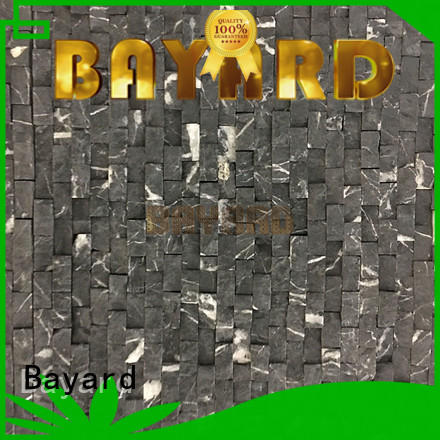 Bayard upscale marble and glass mosaic tile factory price for wall decoration