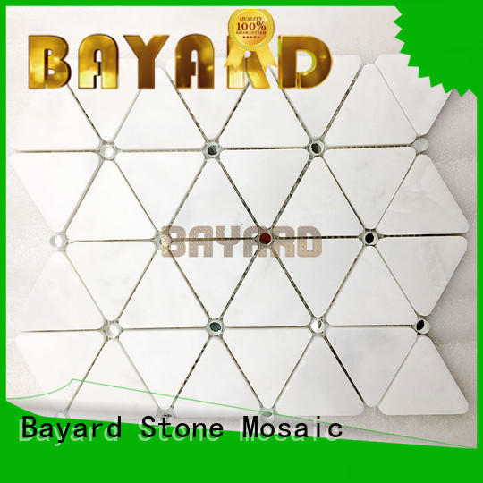 Bayard decorative light grey mosaic tiles overseas market for hotel lobby