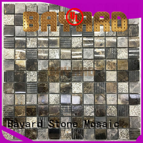 Bayard black stone mosaic newly for decoration