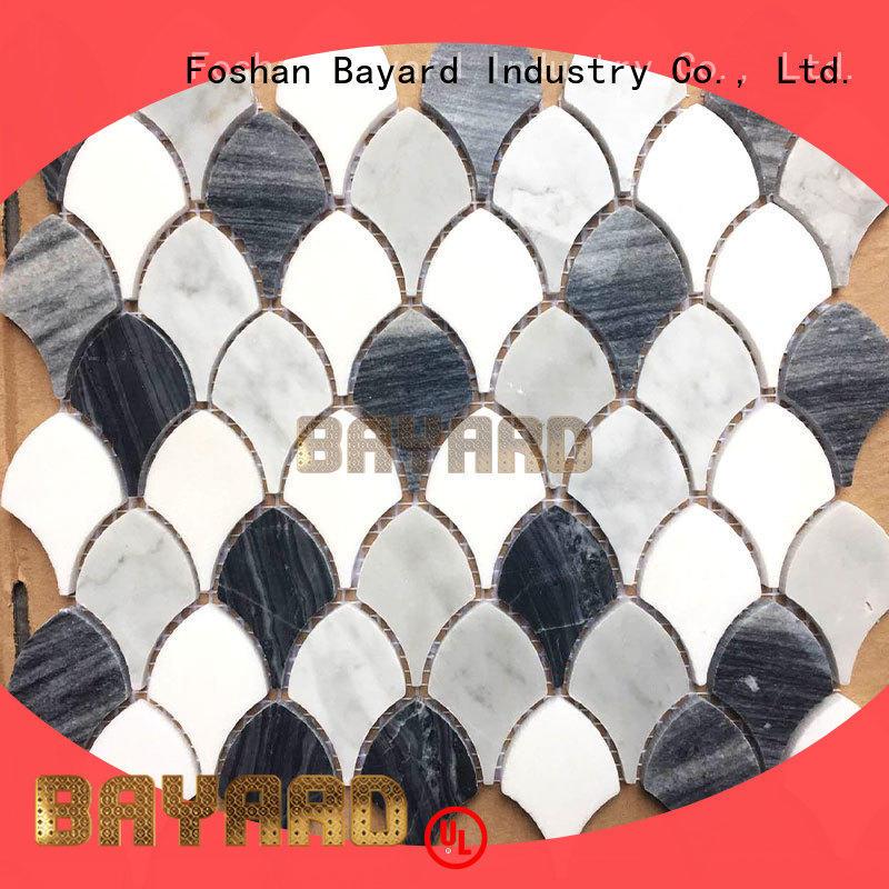 blue mosaic tile sheets