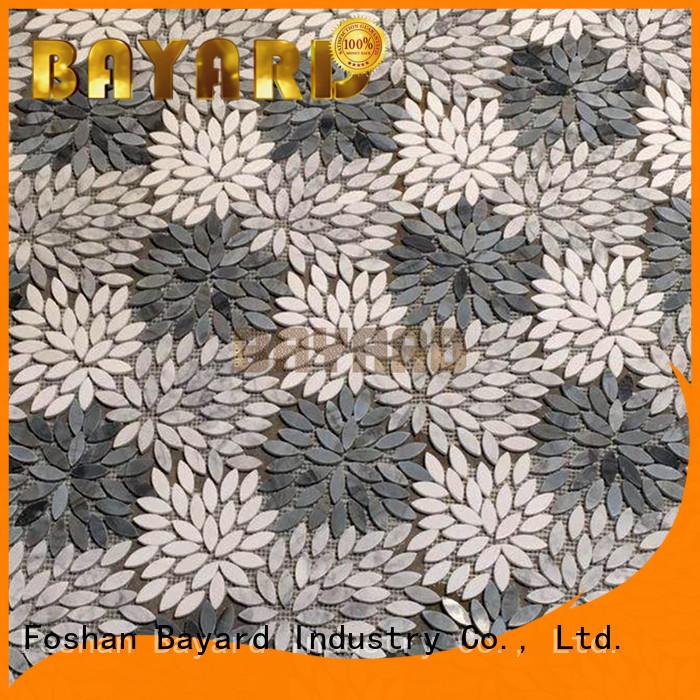 Bayard mysterious stone effect mosaic tiles green for bathroom