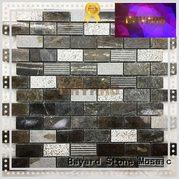 Mosaic tile sheets Dark Emperador marble mosaic tiles outdoor mosaic tiles