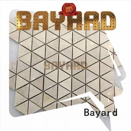 mosaic backsplash white for decoration Bayard